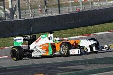 Formel 1 - Di Resta erhofft sich noch mehr von Force India