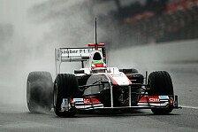 Formel 1 - Perez dreht Ehrenrunden in Mexiko