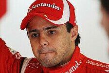 Formel 1 - Massa will 2010 vergessen machen