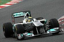 Formel 1 - Rosberg sieht die Dinge besser werden
