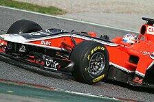 Formel 1 - Glock hofft auf Virgin-Update in der Türkei