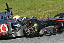 Formel 1 - Hamilton bedauert langsamere Formel 1