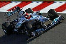 Formel 1 - Keine Panik bei Mercedes GP