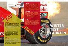 Formel 1 - RACEmag: Tops & Flops der Wintertests
