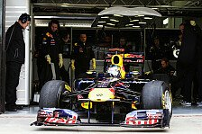 Formel 1 - Red Bull fängt früh an