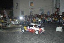 WRC - Ogier nach erstem Tag vorne