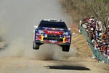 WRC - Zeitstrafe wirft Loeb zurück