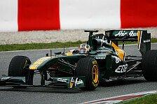 Formel 1 - Valsecchi darf in Australien und Malaysia ran