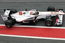 Formel 1 - Sauber-Aktion in Melbourne für Japan