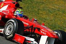 Formel 1 - Ferrari: Reifen dürfen keine Ausrede sein