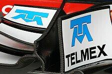 Formel 1 - Perez sehnt sich nach Telmex-Logo auf dem Auto