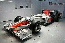 Formel 1 - HRT gespannt auf Auto-Debüt in Melbourne