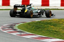 Formel 1 - Trulli vom Lotus-Heck völlig begeistert