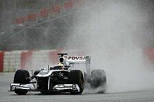 Formel 1 - Maldonado: Erster Test im Nassen