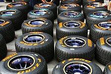 Formel 1 - Pirelli akzeptiert Kritik an Reifen-Kennzeichnung