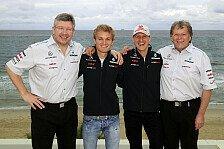 Formel 1 - Rosberg: Es war anders ohne Brawn