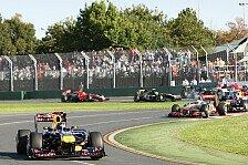 Formel 1 - Vettel gewinnt Australien Grand Prix