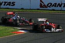 Formel 1 - Whitmarsh: Button-Strafe ungerecht