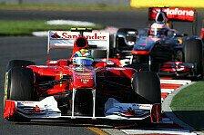 Formel 1 - Massa weist McLaren-Kritik zurück
