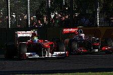 Formel 1 - FIA wird Heckflügel-Reglement anpassen