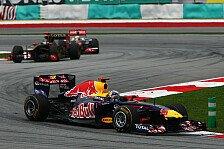Formel 1 - Vettel gewinnt den Malaysia Grand Prix
