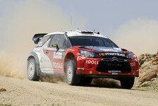 WRC - Sardinien: Solberg mit Bestzeit im Shakedown
