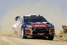 WRC - Ogier kann Führung nach Tag 1 behaupten