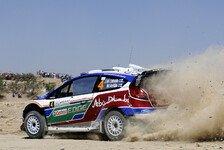 WRC - Ford trauert Sieg in Jordanien hinterher