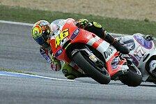MotoGP - Rossi mit Rennen zufrieden
