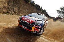 WRC - Sardinien: Loeb behauptet die Führung