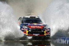 WRC - Loeb gewinnt Rallye Sardinien