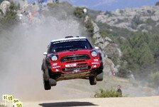 WRC - Sardinien: Freud und Leid bei Mini