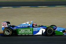 Formel 1: Mick Schumacher fährt beim Belgien GP Demorunde im 1994er Benetton