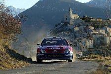 WRC - Rallye Monte Carlo: Titelverteidiger Loeb beginnt mit einem Sieg