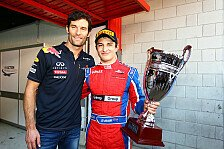 GP2 - Evans erhält Lob von Förderer Webber