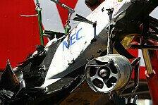 Formel 1 - Monaco-Unfall hat Perez stärker gemacht