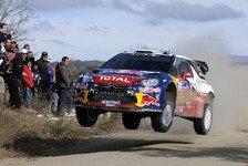 WRC - Loeb gewinnt Rallye Argentinien