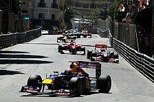 Formel 1 - Vettel gewinnt zweiteiligen Monaco GP