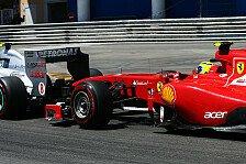 Formel 1 - Verkehr für Ferrari wichtiges Monaco-Thema