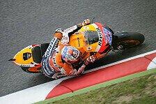 MotoGP - Stoner gewinnt Flag-to-Flag-Rennen in Barcelona