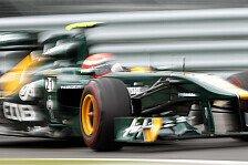 Formel 1 - Team Lotus reist optimistisch nach Valencia