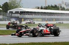 Formel 1 - Button gewinnt Chaos-GP in Kanada