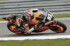 Moto2 - Marquez gewinnt Moto2-Chaos