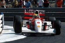 Formel 1: Ayrton Sennas Monaco-Rekord McLaren unterm Hammer