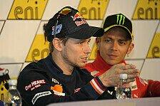 MotoGP - Stoner adelt Rossi: Nicht zu alt für den Titel
