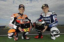 MotoGP - Lorenzo und Stoner: '17-Partner streuen sich Rosen