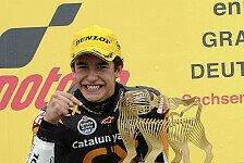 Moto2 - Marquez fokussiert ans Sachsenring-Werk