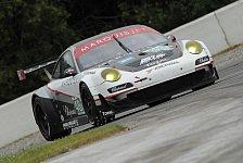 USCC - Porsche knapp am Podium vorbei