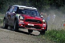 WRC - Meeke in Castle Combe am Start