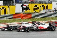 Formel 1 - Button gewinnt Reifenschlacht in Ungarn